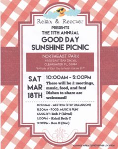 2017-03-18 Good Day Sunshine 11th Annual Picnic